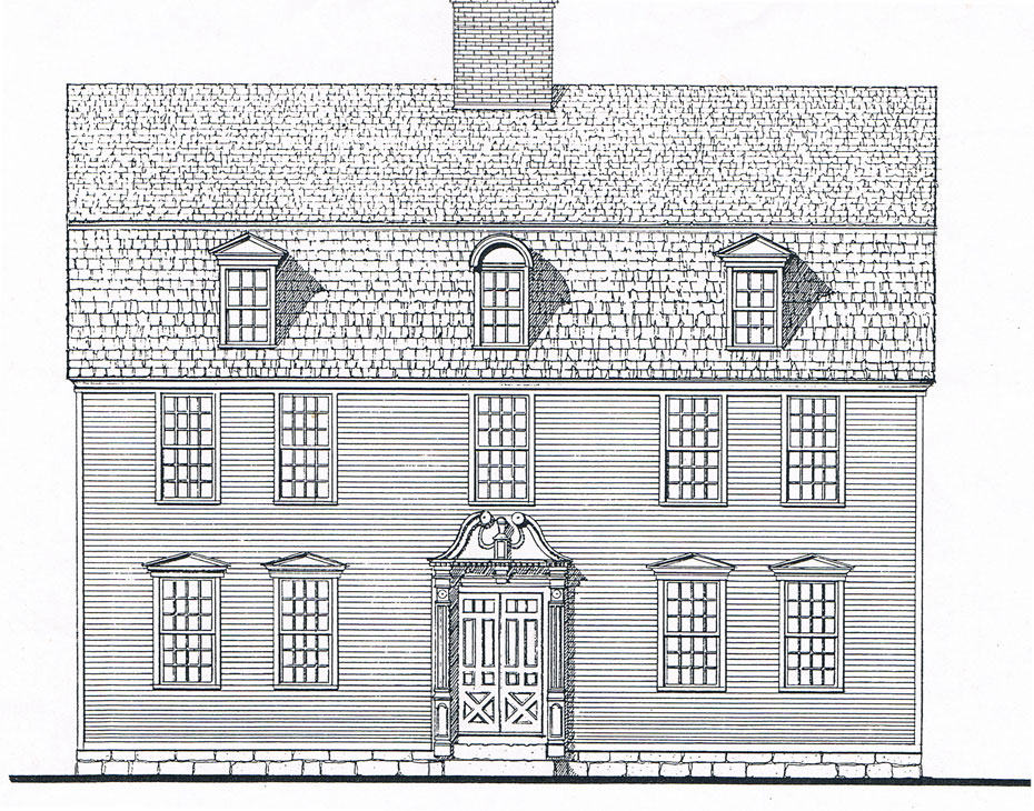 Cool colonial reproduction house plans gallery exterior for Reproduction house plans