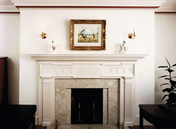 authentic colonial mantels fireplaces by sunderland period homes rh sunderlandperiodhomes com colonial fireplace mantel plans colonial style fireplace mantels