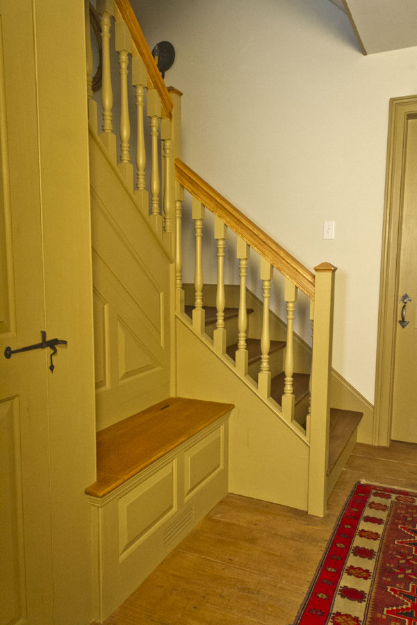 Colonial authentic staircases by sunderland period homes for Colonial reproduction homes for sale
